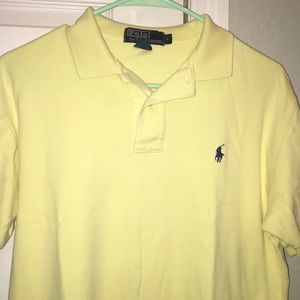 Small yellow polo